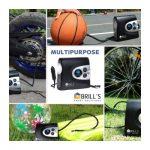 Brill's Portable Digital Tire Inflator Pump