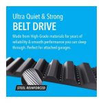 Chamberlain B970 belt-driven best garage door opener