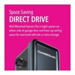 Chamberlain RJO20 Direct Drive best Garage Door Opener