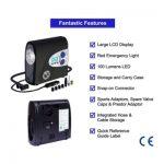 P.I. Auto Store Premium Portable Digital Auto Tire Inflator