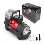 Tcsia Portable best Air Compressor for car tires Pump
