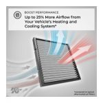best K&N VF2005 washable reusable cabin air filter